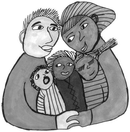 A family again artwork