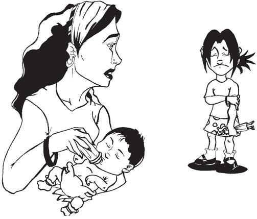 No more mother's helper illustration