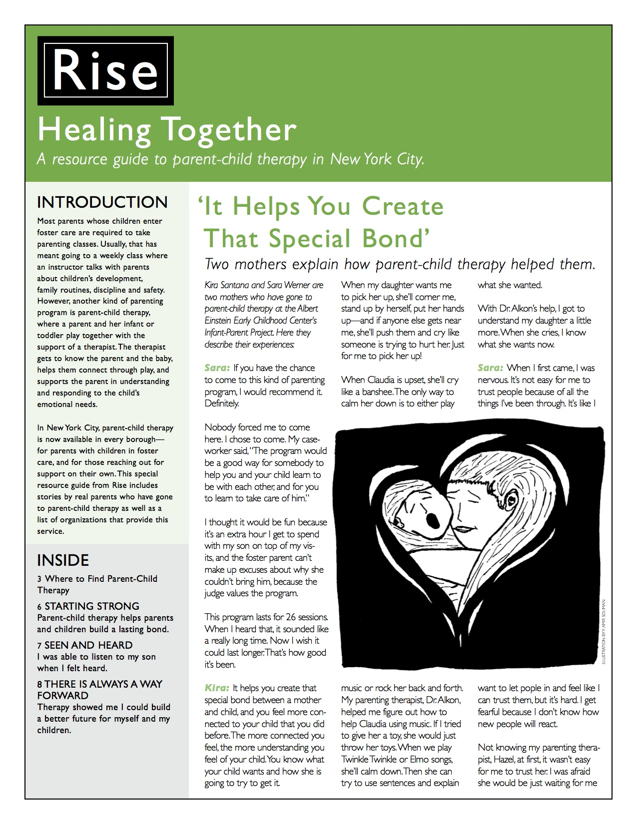 Healing Together: A Parent-Child Therapy Resource Guide product image