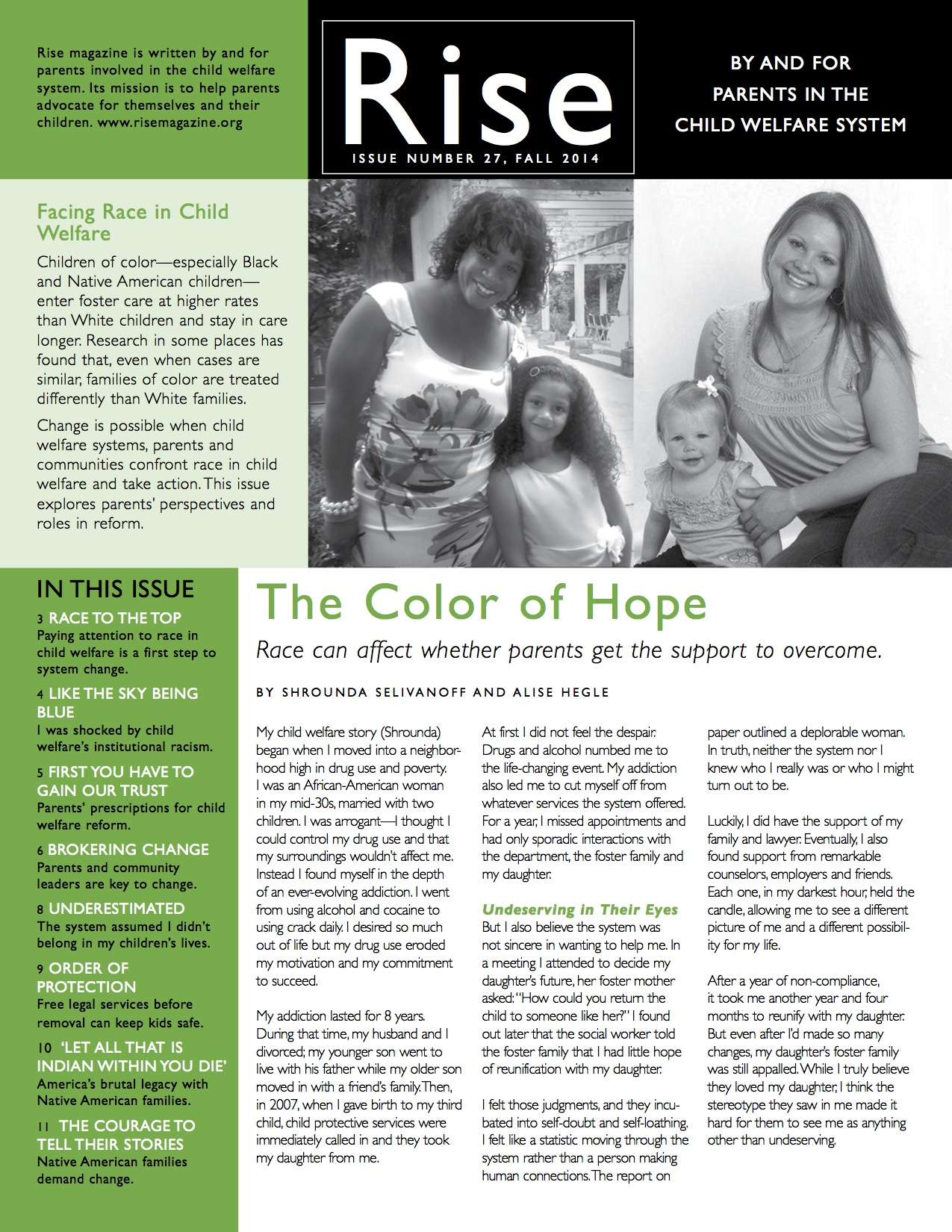 Facing Race in Child Welfare product image