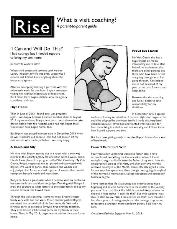 Visit Coaching: A Parent-to-Parent Guide product image